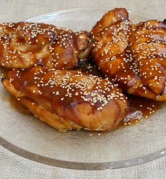 Teriyaki chicken breasts