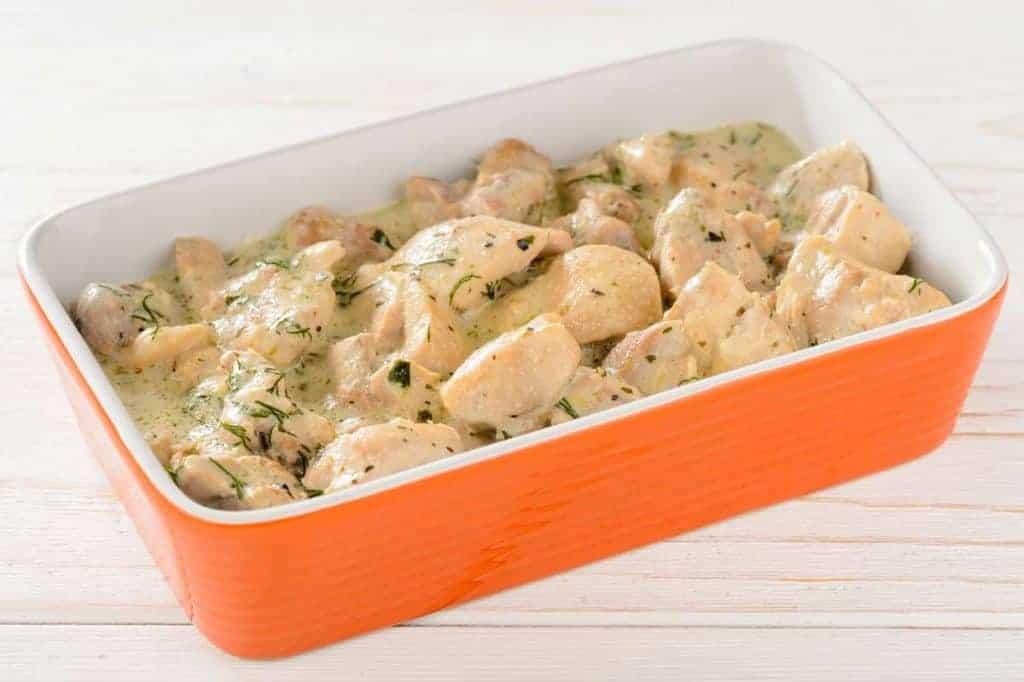 chicken breasts in bechamel sauce recipe