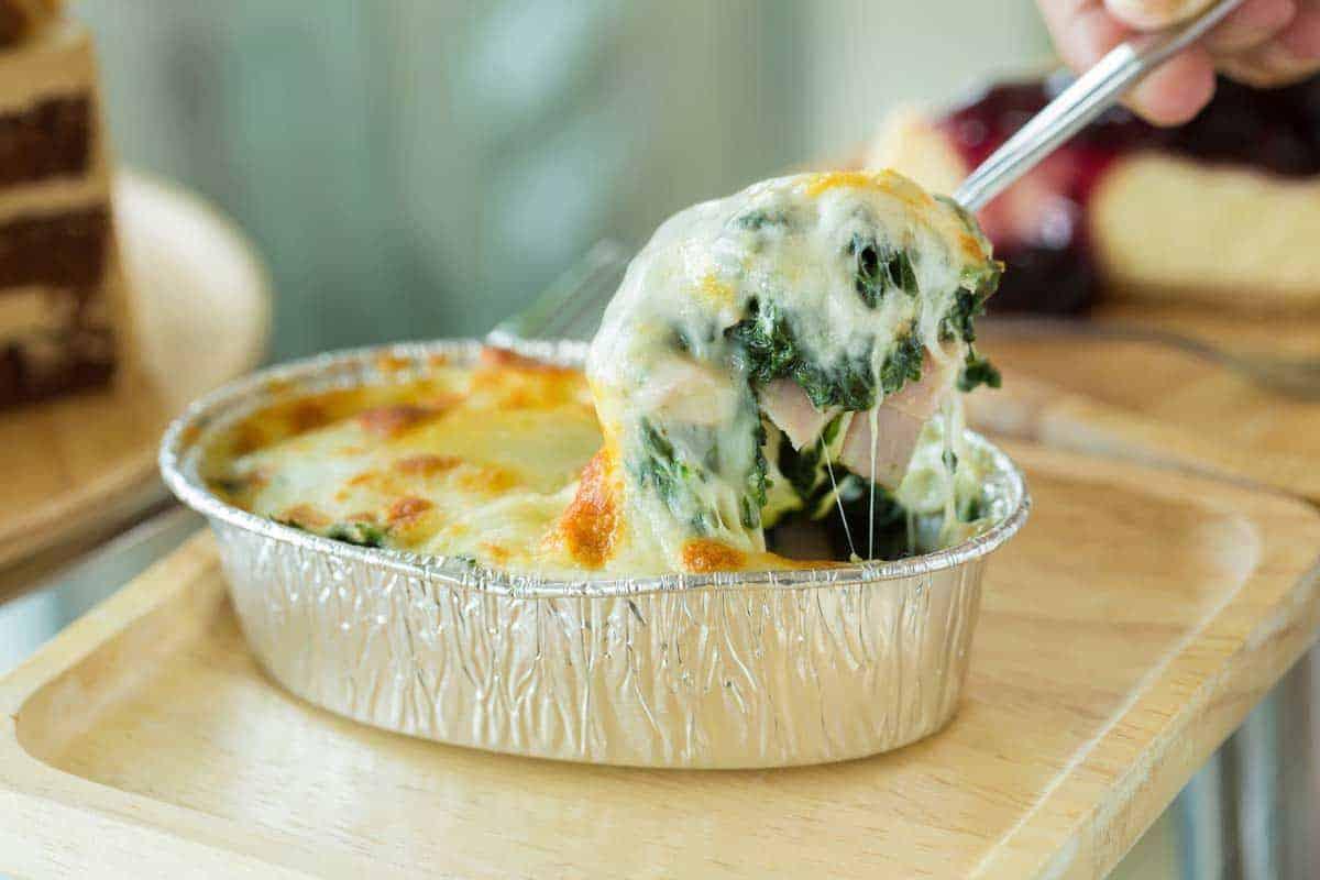 Spinach bechamel recipe