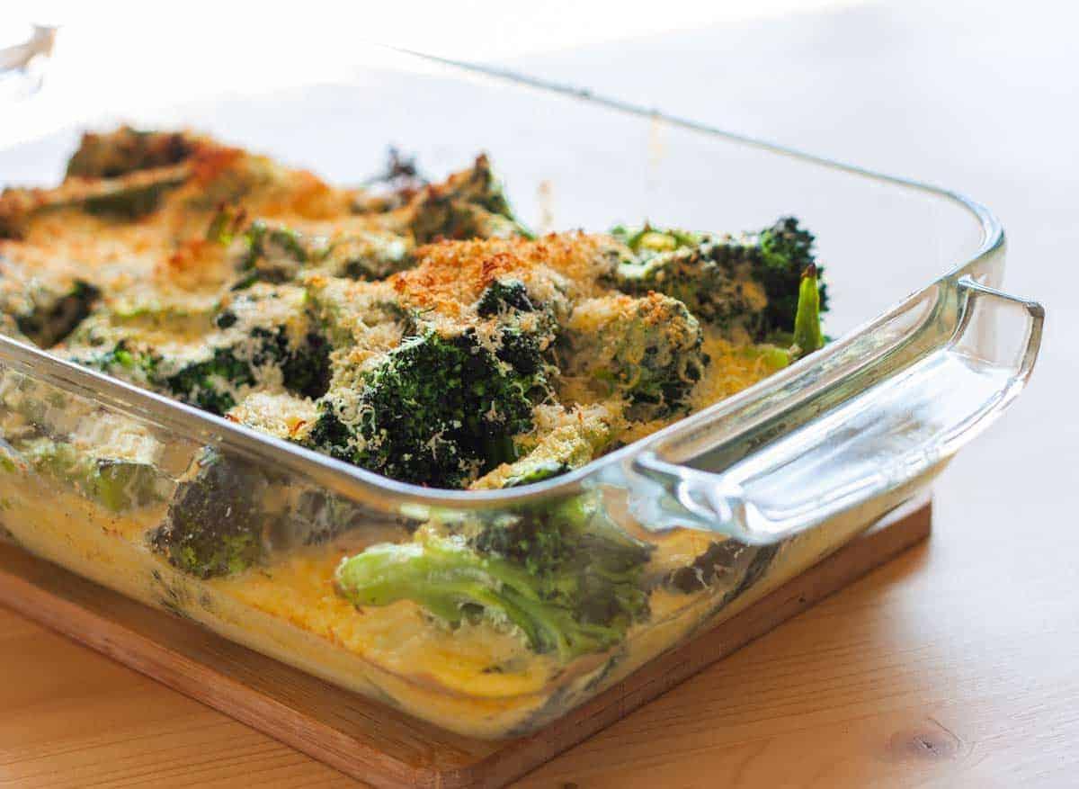 Broccoli Bechamel recipe