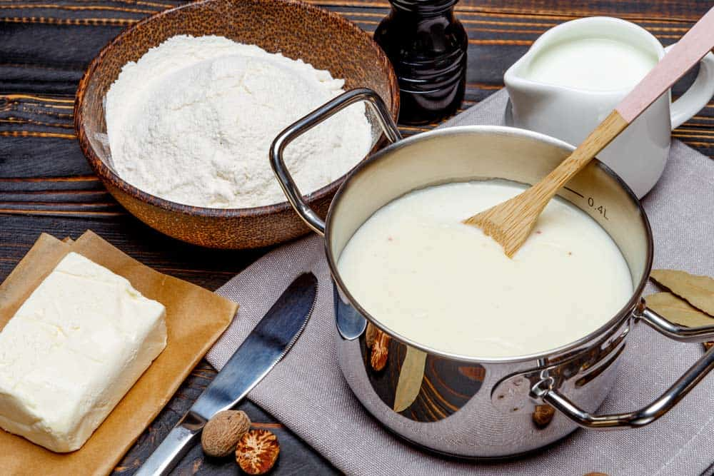 how to make bechamel sauce